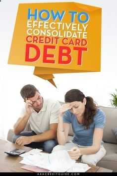 How To Consolidate Credit Card Debt With Fair Credit. A lot of readers have voted this blog to be a very good place to start when learning about it