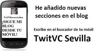 TwitVC Sevilla Empleo. Busca mi blog en tu móvil. Ofertas, bolsa de trabajo, Ayuntamiento.: Ofertas de empleo, bolsa de trabajo, cursos,Infojo...
