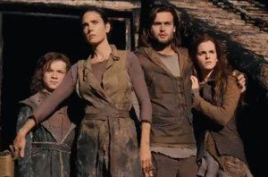 DOUGLAS BOOTH and EMMA WATSON in Noah
