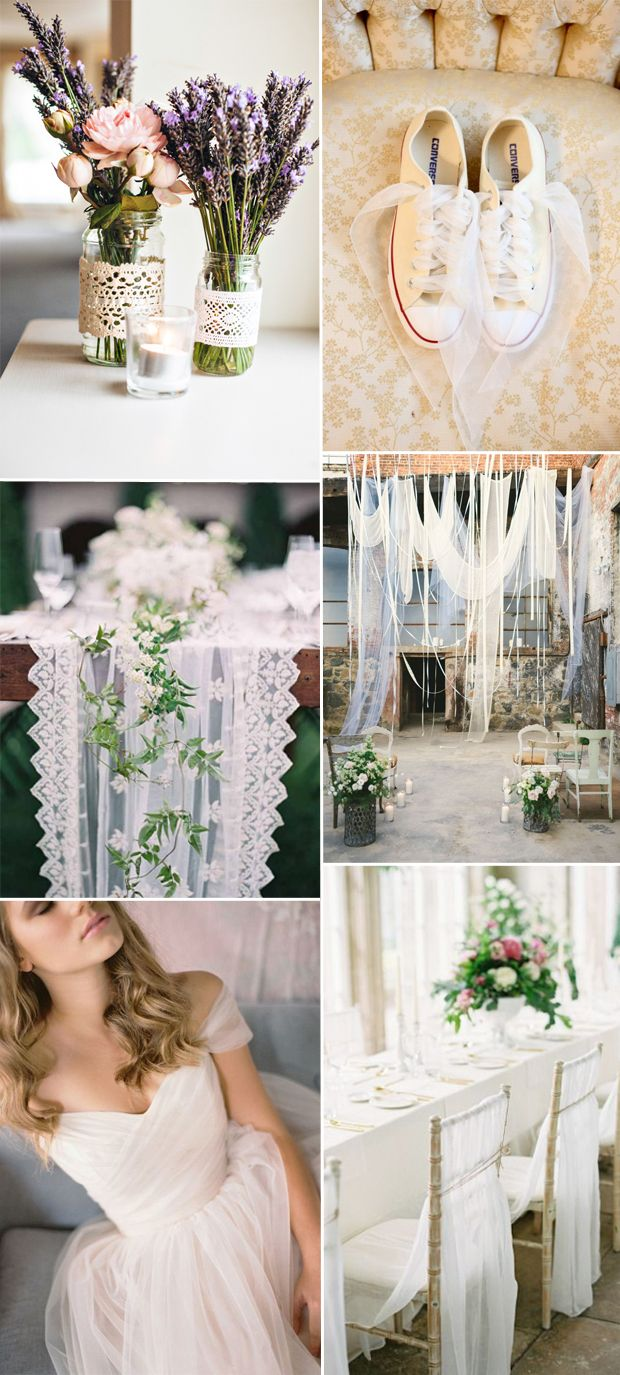 trending wedding ideas with tulle 2016