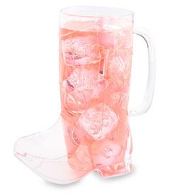 Plastic cowboy boot mugs (set of 12) for a Sheriff Callie's Wild West Party