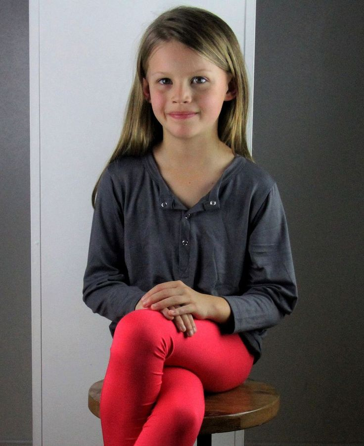 classic Henley shirt for boys and girls. Long sleeve with comfortable stretch in sizes newborn baby to tween.