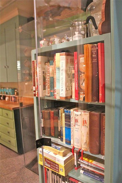 Julia Child's Kitchen - Cookbooks by Made With Pink, via Flickr