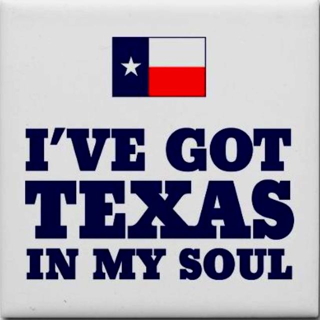 I've only been to Texas once, but politically my heart belongs there. Sure…