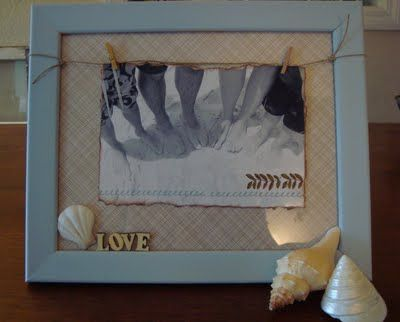 Ohhhh how I loooove this frame....making it for my daughter's 24th birthday tomorrow....super easy tutorial...