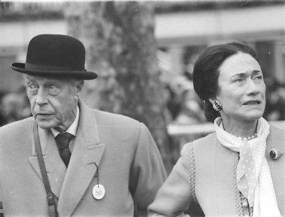 Vintage-photo-of-Duke-Edward-and-Duchess-Wallis-of-Windsor