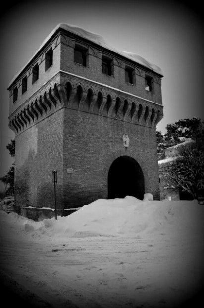 La torre sotto la neve - Solarolo