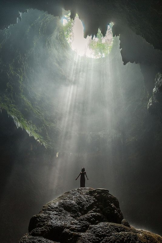 To the light | Jomblang Cave,Yogyakarta, Indonesia