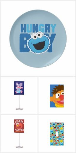 Sesame Street Home & Room Decor. Perfect for a nursery or young child's room #Ad