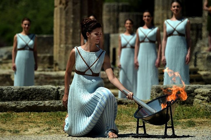 #Olympic #flame lit for troubled #Rio Games...