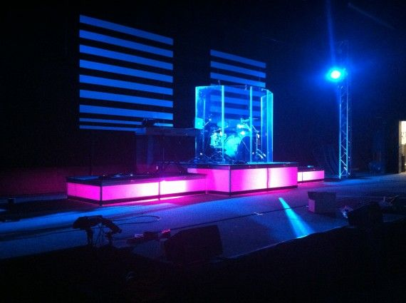 church lighting ideas. light box risers made from wax paper stage lightinglighting ideaschurch church lighting ideas