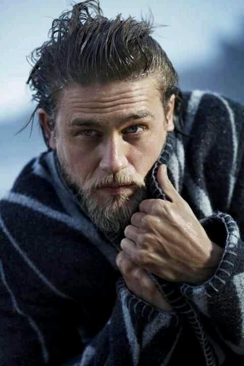 Charlie Hunnam.... Oh good lord