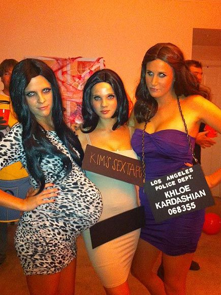 They're not just Kardashians—they're the Kardashian SCANDALS! Love this Halloween costume from reader Page K.  http://www.people.com/people/package/gallery/0,,20058392_20635695,00.html#21224493