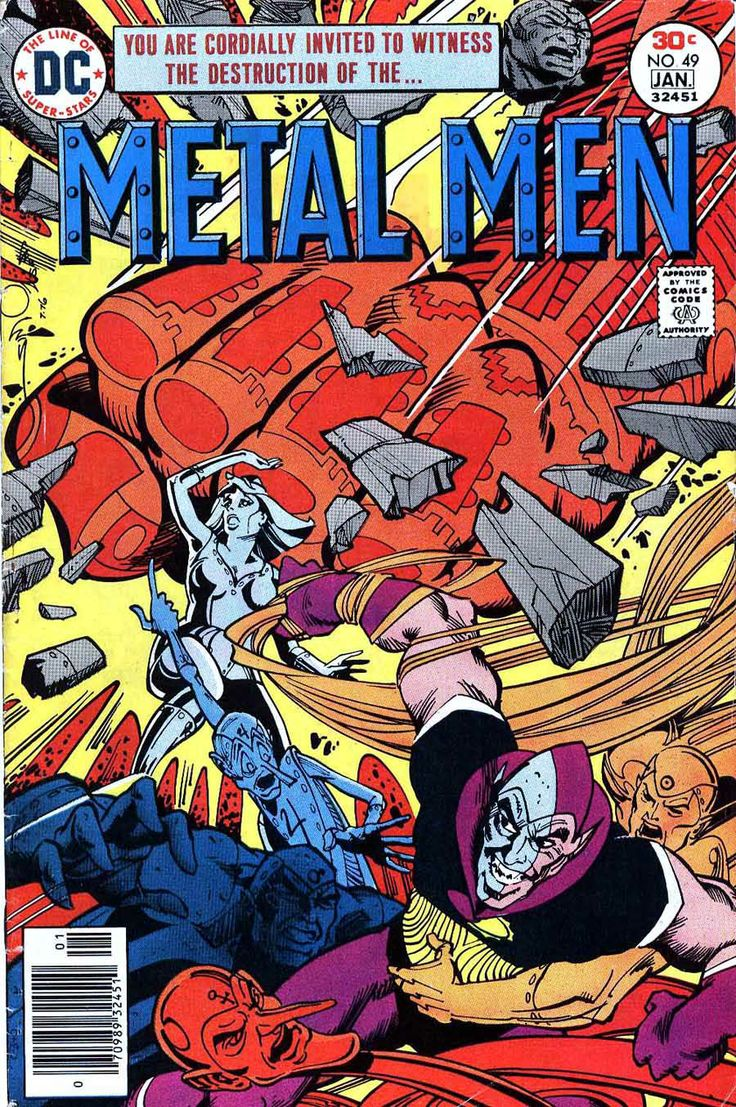 Metal Men #49 - Walt Simonson Art