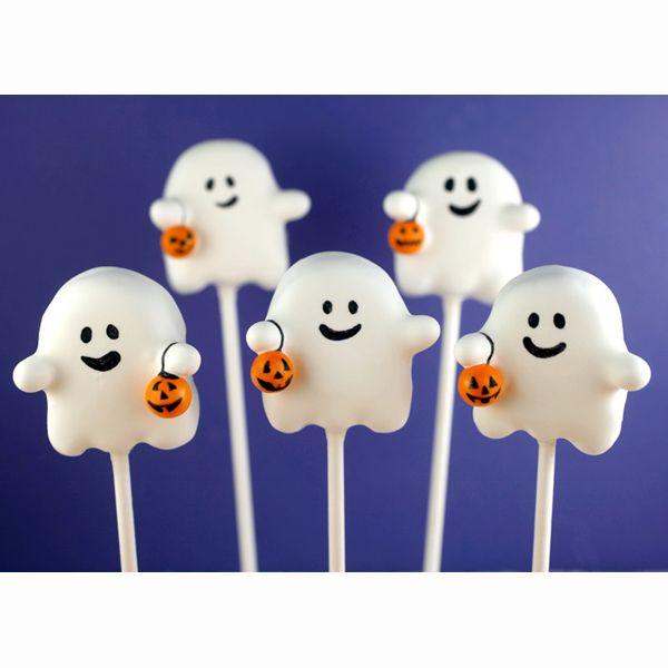 Ghost Cake Pops Ideas