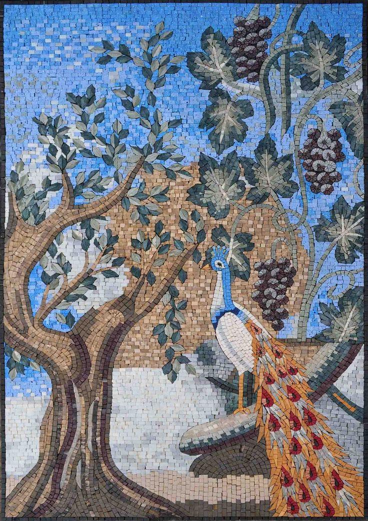 Mosaic Designs - Asiatic Peacock