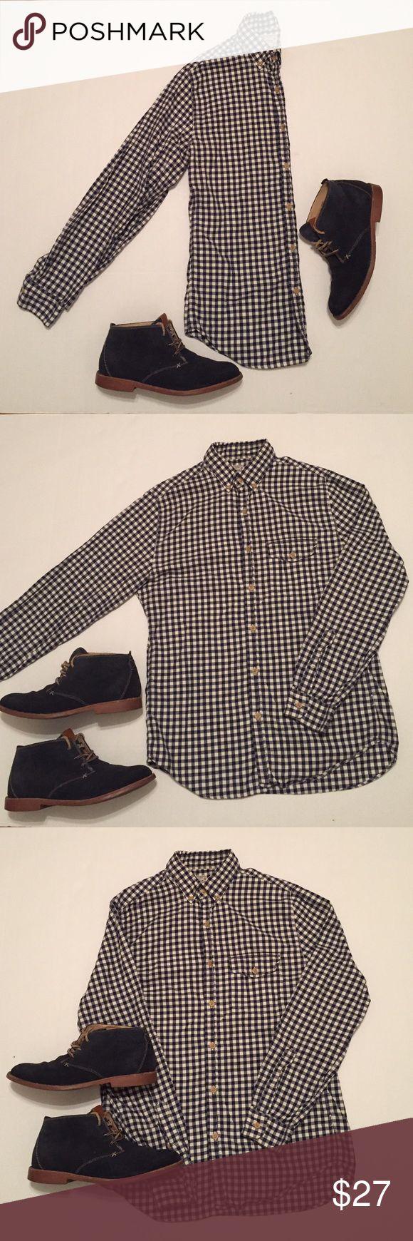 J. CREW  casual button down shirt NWOT.  Secret wash gingham pattern J. Crew Shirts Casual Button Down Shirts