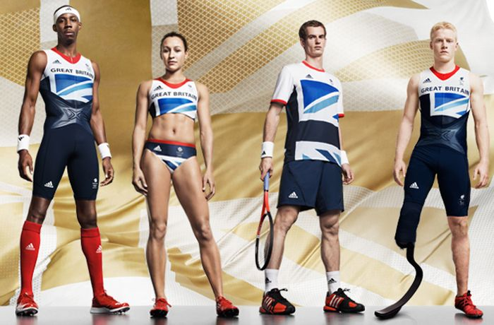 Team GB kit - loving the red shoes!