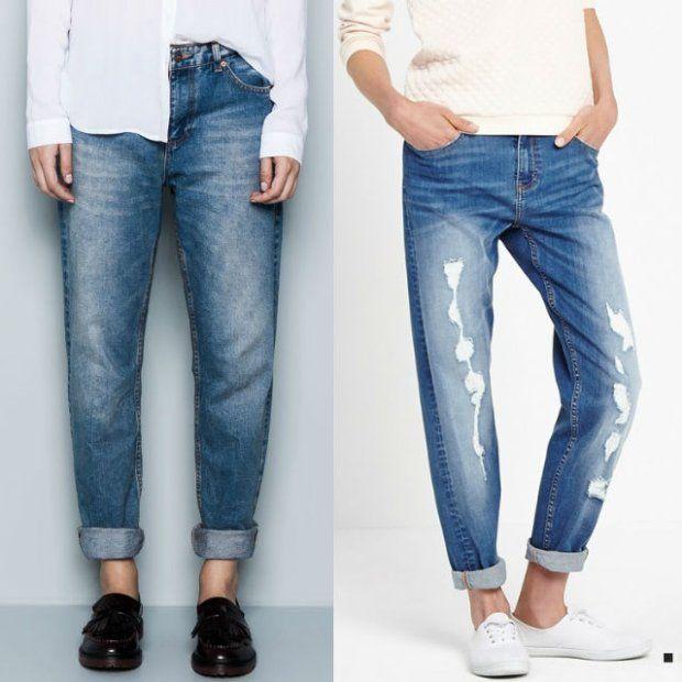 Boyfriend jeans - gdzie znaleźć i z czym nosić