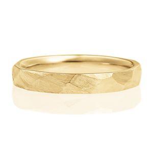 結婚指輪 K18イエローゴールド オーバル ヴィンテージ 3.0mm リング - YG18-09-030-00-00-00-03 - | BRILLIANCE+