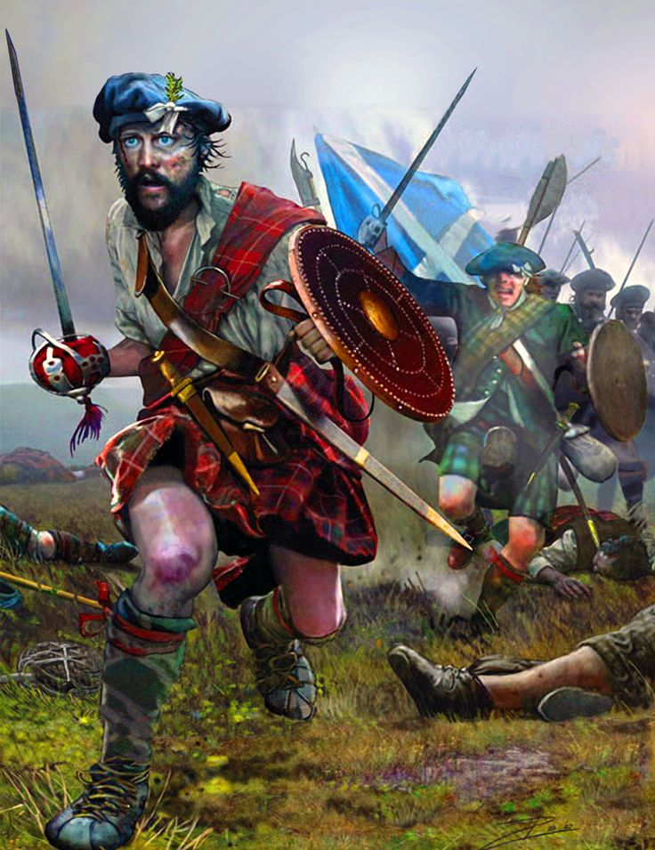 Jacobite Rebellion in Scotland - 129.6KB
