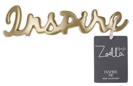 Inspire desk accessory from Zoella Lifestyle collection at House Of Fraser