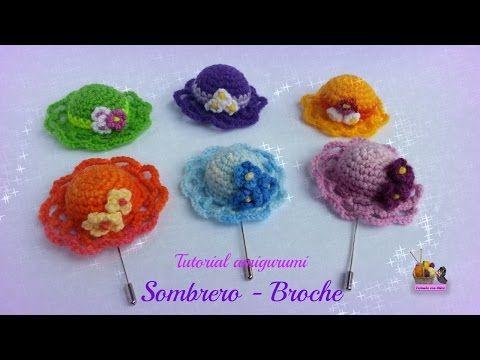 Crochet: búhos pequeños de colores (aplicación!) - YouTube
