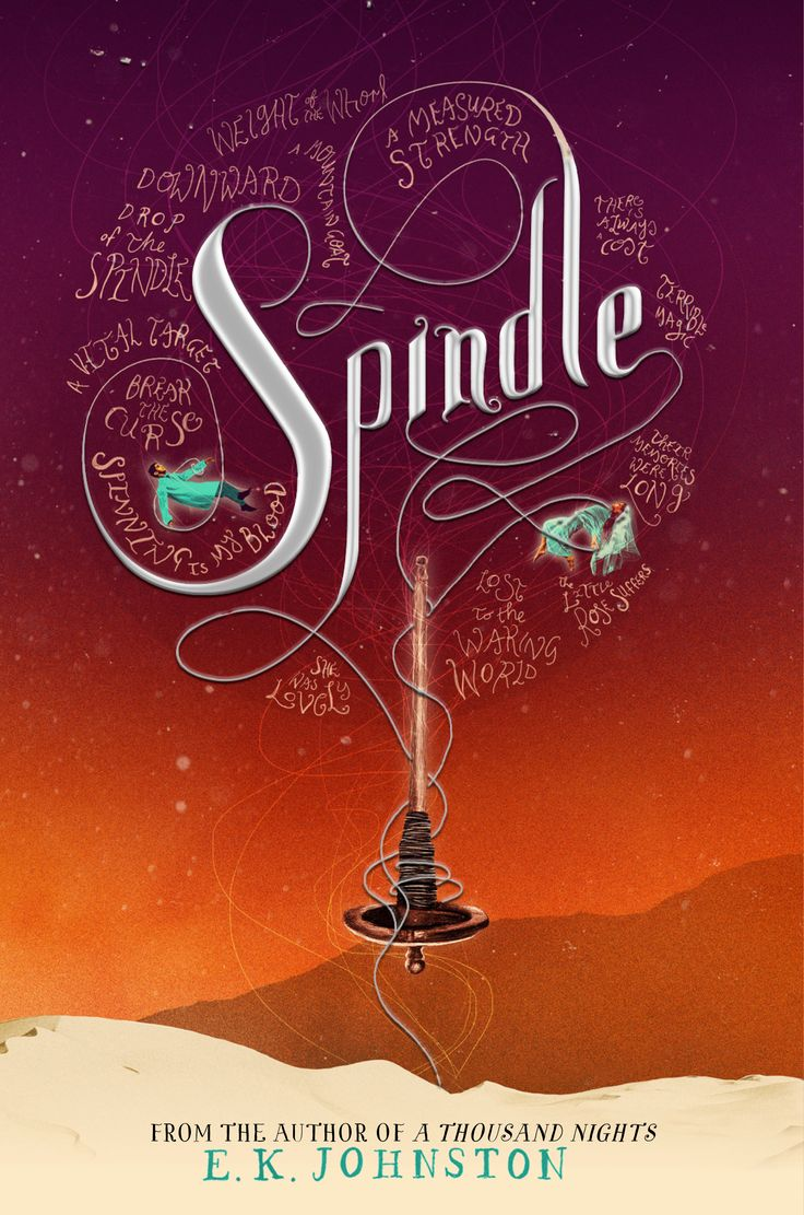 #coverreveal Spindle (a Thousand Nightspanion) By Ek Johnston