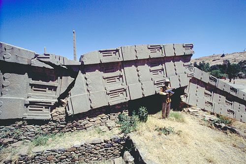 toppled axumite obelisk, Puma Punku Almost impossible ancient ruins