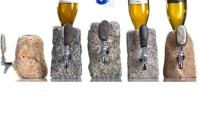 Totally Awesome Stone Barware Including Stone Drink