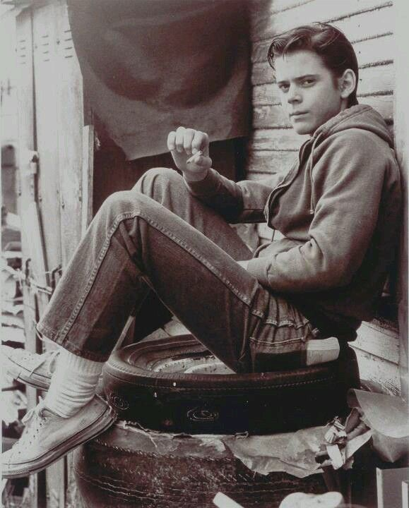 The Outsiders Ponyboy Curtis! could he be any more adorable?!?