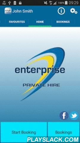 Enterprise Taxis, Norwich  Android App - playslack.com ,  With our Enterprise Taxis app you can quickly: • Obtain a quotation. • Make bookings by cash, card, or on account. • Check your vehicle's status. • Cancel a booking. • Track your vehicle on a map. • Manage previous bookings. • Manage your favourite addresses. • See where your closest car is. Enterprise Taxis has been trading in Norwich for over 14 years. With over 80 vehicles including estate cars, six, seven and eight seater mini…