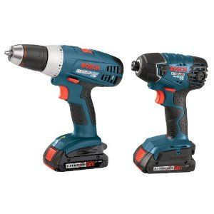 Bosch 18-Volt 2-Tool Lithium-Ion Combo Kit