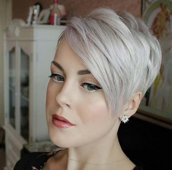 Side swept pixie by Sarah H.