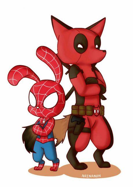 Deadpool and zootopia *grabs popcorn*