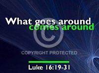 A perfect CHURCHpowerpoint image for Luke 16:19-31.