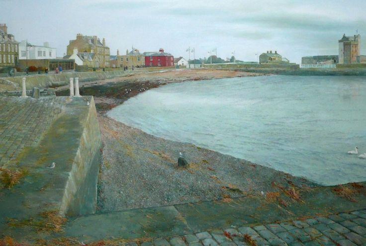 Paul Craven Broughty Castle & Beach Crescent Oils   Scottish Contemporary Art