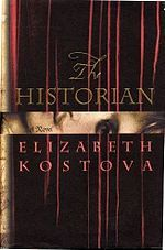 The Historian by Elizabeth Kostova. A completely engrossing, eerie story that tumbles through timelines, telling the stories of a professor, his mentor, and the infamous Vlad the Impaler. (Paired with Relic Ritual Red 2009)