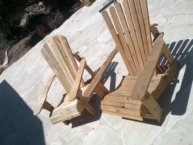 adirondack chair building process in pictures step by
