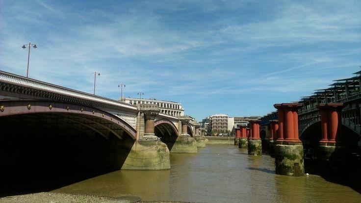 Clear skies, london