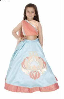 For a change choose one of these kids lehenga styles and make them the center of attraction. Visit:https://www.kidology.in/kids-wear/girls/indian.html