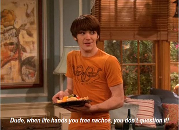 "Life works in mysterious ways: | The 28 Most Important Lessons We Learned From ""Drake And Josh"""