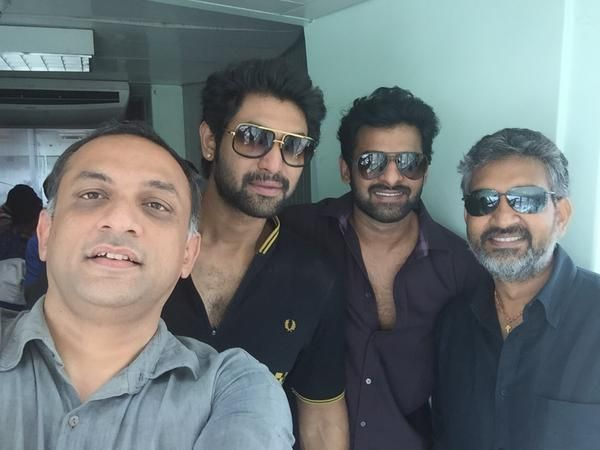 "Shobu Yarlagadda on Twitter: ""And getting back to Hyd. @BaahubaliMovie @ssrajamouli @RanaDaggubati #Baahubali http://t.co/YYE4WuM5kz"""