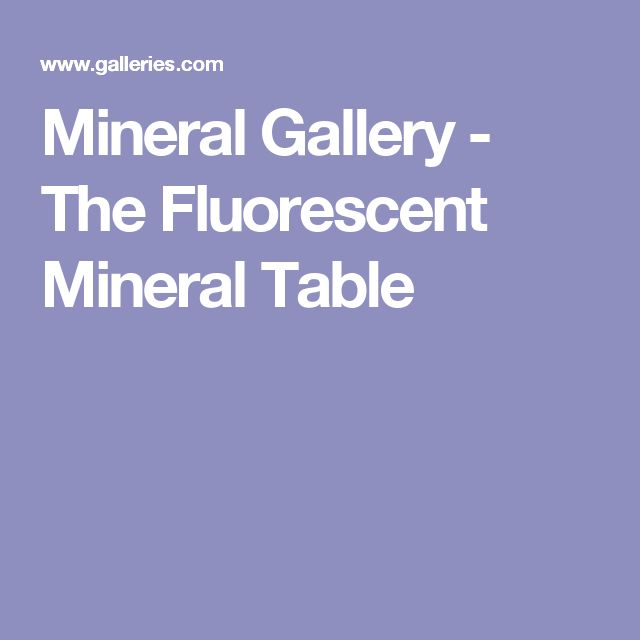 52 best pho 228 ultraviolet light photography images on pinterest mineral gallery the fluorescent mineral table malvernweather Choice Image