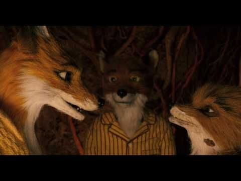 FANTASTIC MR. FOX - Official Theatrical Trailer. Amazing storytelling combined with delightful stop action animation. :)