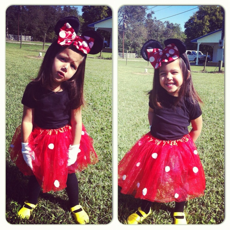 homemade minnie mouse costume - Halloween Home Costumes