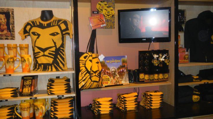 lion king gift shop - attending the  u0026quot lion king u0026quot