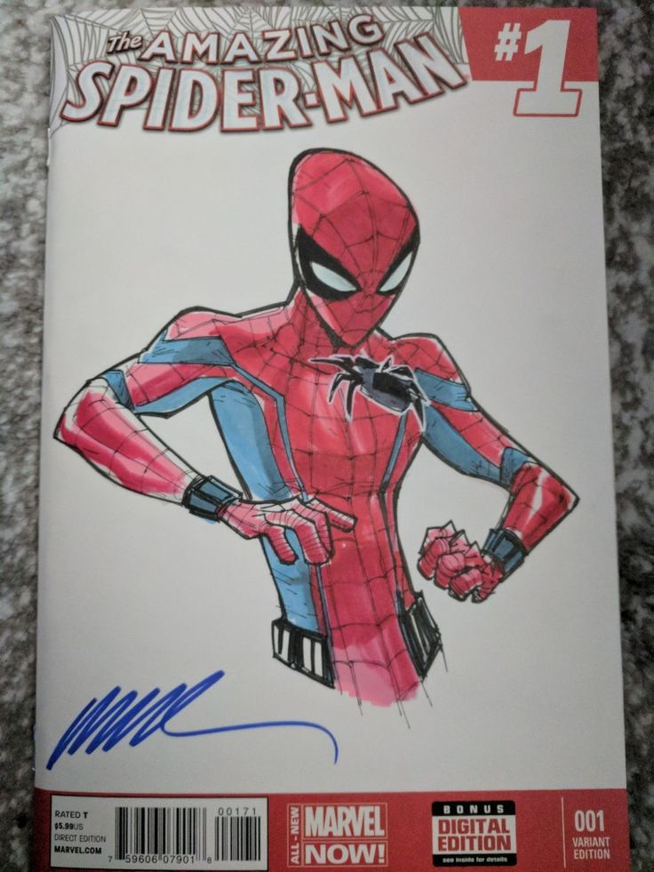 Humberto Ramos sketch of Spider-Man homecoming with drony