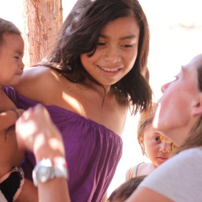 Vi muchos niños en La Guajira con desnutrición complicada. No entiendo por qué desmienten la realidad #NoHayDerecho