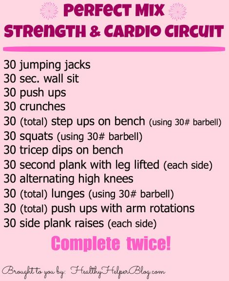 Cardio Strength Workout: 17 Best Images About No Gym Required On Pinterest
